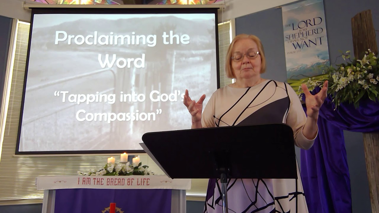 """February 28, 2021 ~ Rev. Julia Price ~ """"Tapping into God's Compassion"""""""