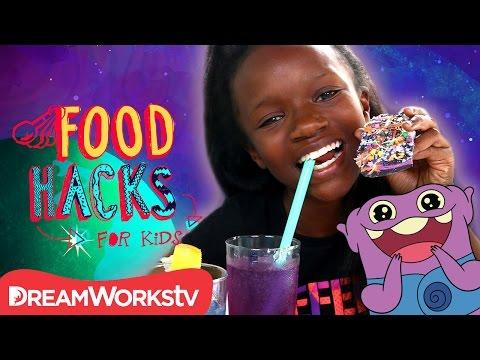 """HOME"" Food Hacks  FOOD HACKS FOR KIDS"