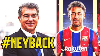 BARCELONA GOES INSANE BECAUSE OF NEYMAR LAPORTA TO SELL SIX PLAYERS FOR THE RETURN OF NEYMAR