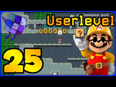 #25 Ich spiele blind! - Userlevel - Super Mario Maker Online