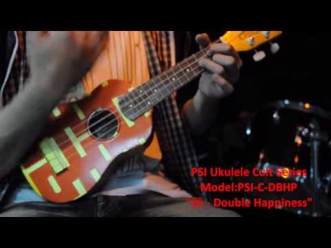 "PSI Ukuleles Cult Series - ""囍 - Double Happiness"" Song:分分鐘需要你"