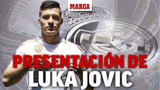 Download Presentación de Luka Jovic como jugador del Real Madrid, en directo  I Fichajes 2019 - MARCA Mp3 and Videos