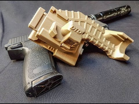 DTD 3D printed Mk23 holster for airsoft