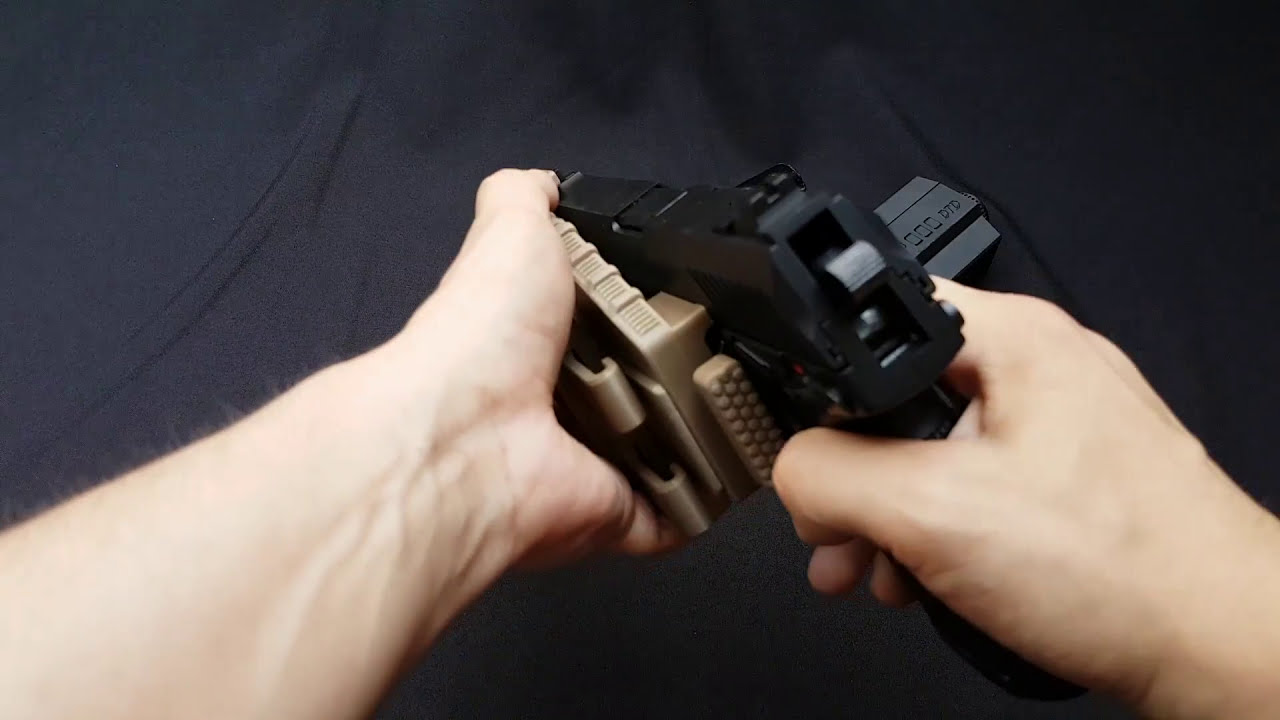 Dtd 3d Printed Mk23 Holster For Airsoft  Faceless Sniper 01:11 HD