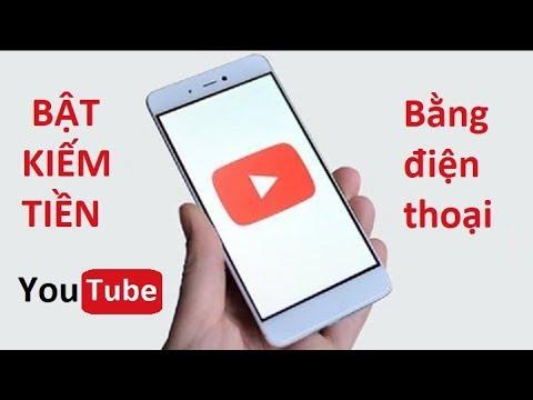 Cách bật kiếm tiền trên Youtube bằng điện thoại