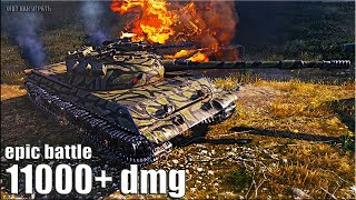 СУПЕР БОЙ!!! ТАЩИТ с 1% XP 🌟 Объект 430У лучший бой World of Tanks