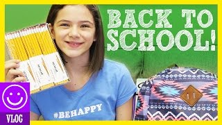 BACK TO SCHOOL SHOPPING! HAULS!  SUPPLIES & CLOTHES!  |  KITTIESMAMA