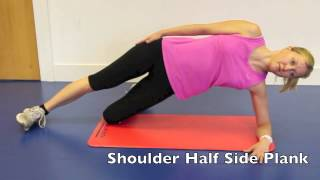 Half Side Plank to Full Side Plank Exercise