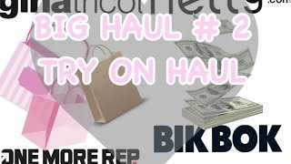 MY BIG HAUL #2 TRY ON EDITION | NELLY.COM , GINA TRICOT, BIKBOK, FREDDY WR UP mm.