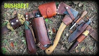 ULTIMATE BUSHCRAFT BELT KIT - Survival , Camping - HD Video
