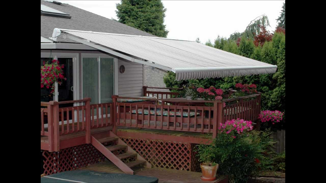 Motorized Awnings - YouTube