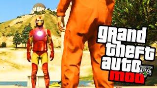 "GTA 5 PC Mods - Iron Man Mod Gameplay - GTA 5 Superhero Mods ""Iron Man"" Funny Moments! (GTA V PC)"
