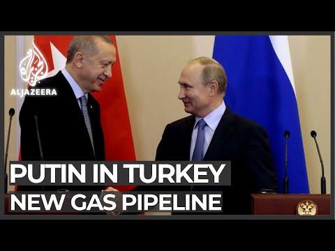 Russia's Putin in Turkey to inaugurate new gas pipeline