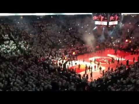 Toronto Raptors vs Brooklyn Nets - 2014 Playoffs Game 1 Intro