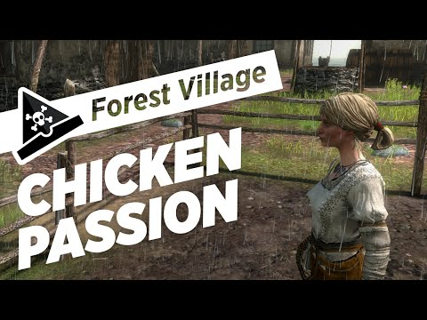CHICKEN PASSION - s2 ep2 - Let's Play Forest Village Gameplay