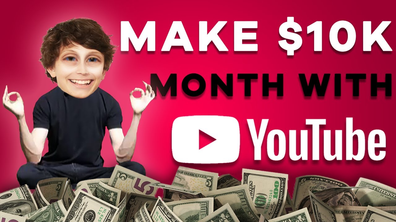 How to Make Money on YouTube Without Making Videos (Weird Niche ...