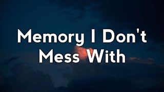 Play Memory I Don't Mess With