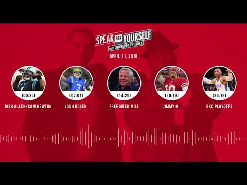 SPEAK FOR YOURSELF Audio Podcast (4.11.18) with Colin Cowherd, Jason Whitlock | SPEAK FOR YOURSELF