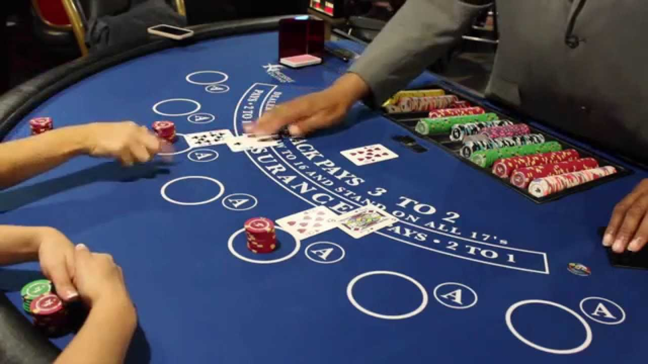 How to Play Blackjack, Newcastle Casino - YouTube