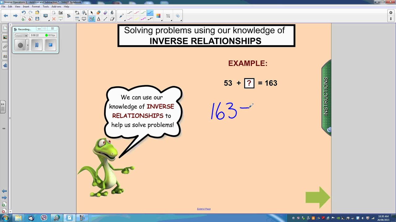 Addition And Subtraction Inverse Operations Worksheets Ks2 ...