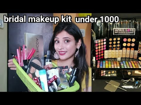 All bridal makeup products unboxing!! Diamond!! Blue haven