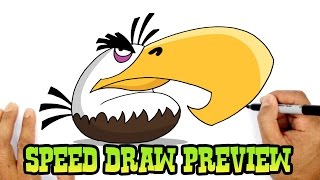 Mighty Eagle (Angry Birds)- Speed Draw Preview