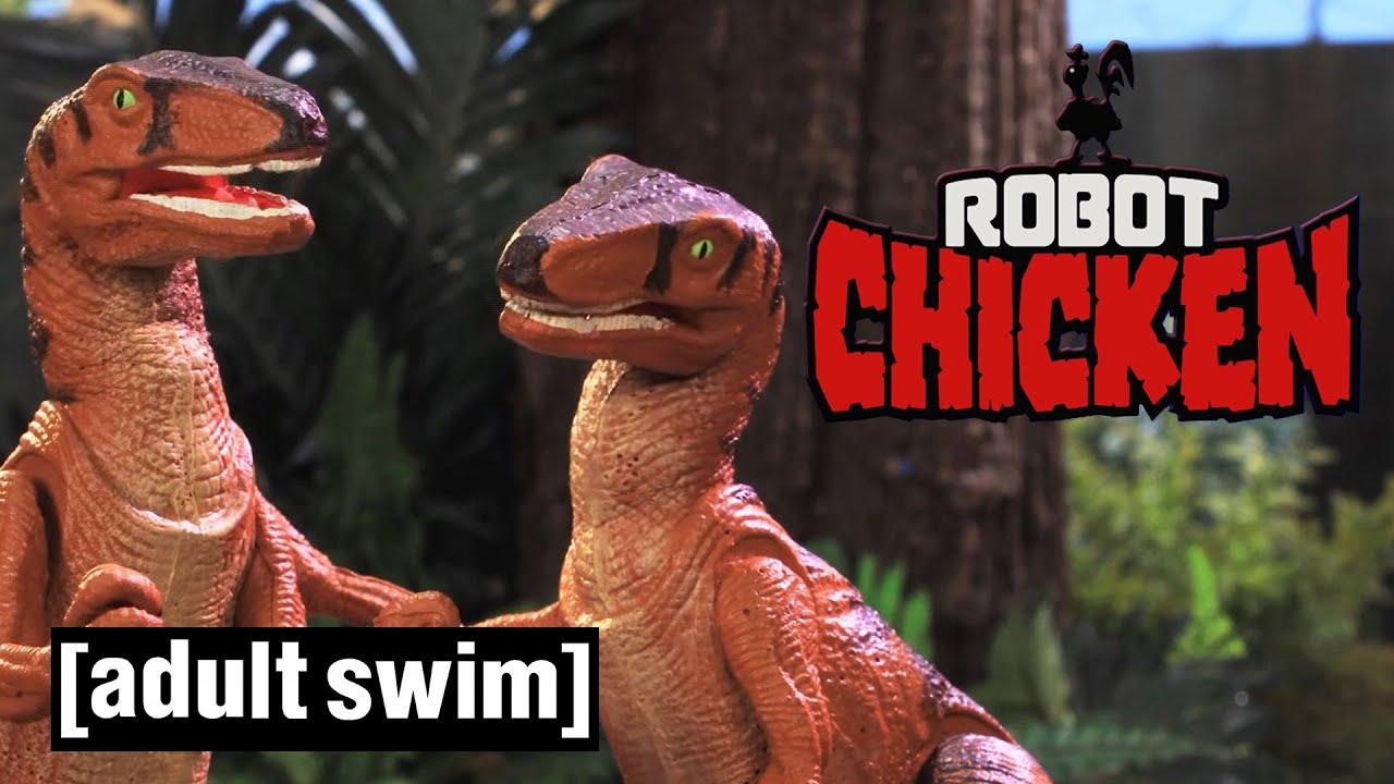 Robot Chicken | Her-assic Park | Adult Swim UK 🇬🇧