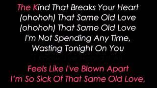 same old love karaoke selena gomez