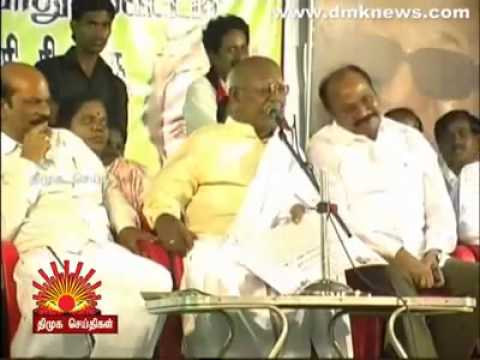 DMK party men's public speech