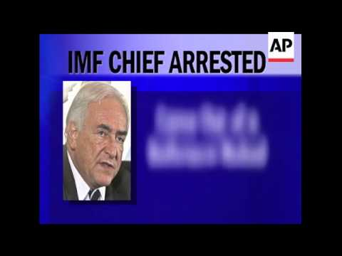 The leader of the International Monetary Fund was pulled from an airplane moments before he was to f