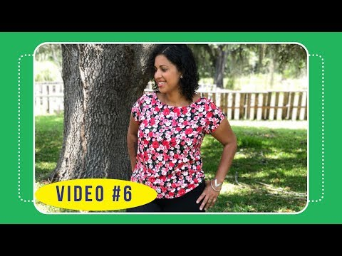 Butterick 6214 Sew Along with Crafty Gemini: Video #6: Sewing front, back & sleeves
