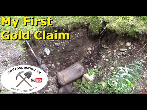 Gold Prospecting Trip, Mining a Gold Claim Part 5 2016
