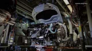 Сборка Audi A7 Sportback на заводе Неккарзульм, в Германии  2011(Смотри всю рекламу Audi: http://motorhub.ru/audi/ Audi A7 Sportback (код кузова — 4G) — пятидверный фастбэк класса Гран Туризмо,..., 2013-11-16T17:10:52.000Z)