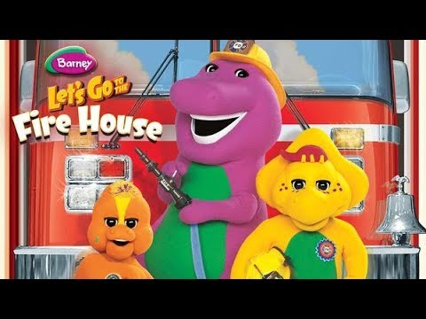 Barney Let S Go To The Fire House 2007 Youtube