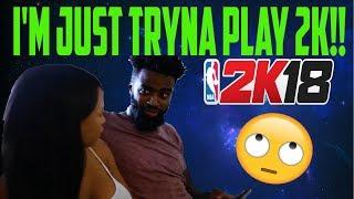 WHEN ALL YOU WANNA DO IS PLAY 2K! | Landon Moss