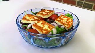 Grilled Haloumi Salad Recipe