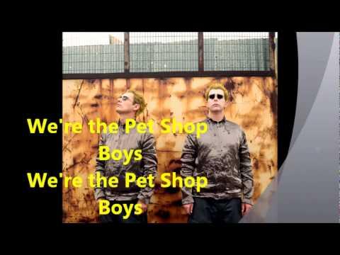 we're the Pet Shop Boys