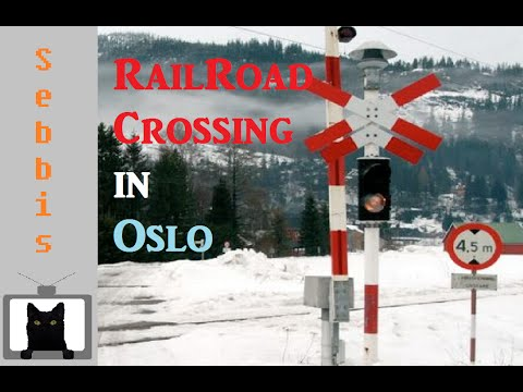 RailRoadCrossings In Oslo | Norway Real life |  -Subway Crossings-
