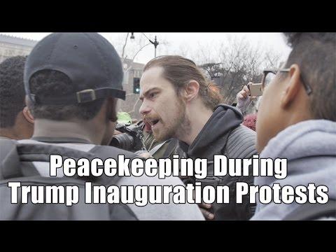 Trump Inauguration Protests and Riots Washington D.C.