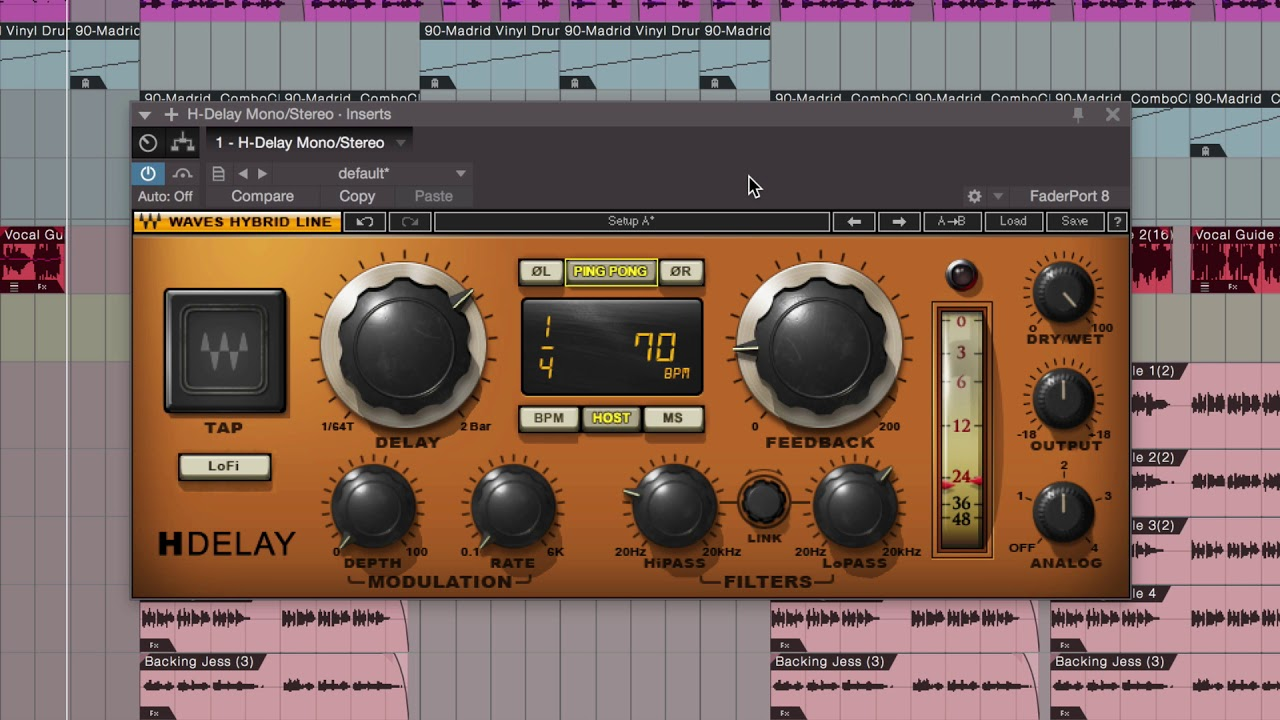 Mixing Vocals with Waves Plugins in Studio One – Delay | Waves