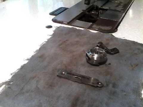 Швейная машина Подольская. Как сделать регулируемый челнок. Видео .