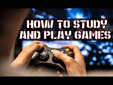 How to study and play games at the same time!? - VLOG #9
