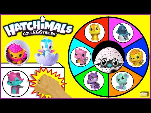 Hatchimals Colleggtibles Surprise Eggs Spinning Wheel Game | 30+ Toy Eggs RARE + Limited Kids Games