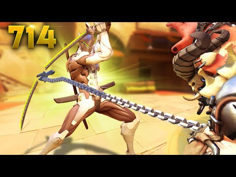 HOOK Can BREAK Swords!! | Overwatch Daily Moments Ep.714 (Funny and Random Moments) thumbnail