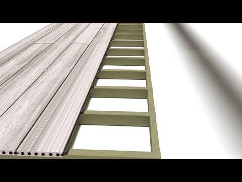 How to Lay Decking with Composite Prime