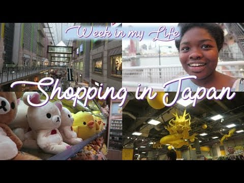 STUDY ABROAD VLOG// Shopping in JAPAN and Revealing My Secret Obsession