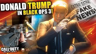DONALD TRUMP IN BLACK OPS 3 ZOMBIES! | TwoEpicBuddies