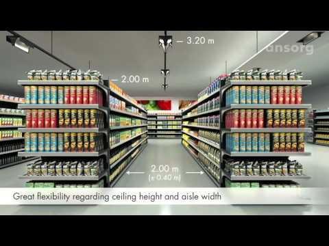 NEW Navo  Natural shopping experience with efficient aisle lighting