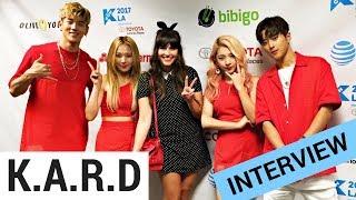 K.A.R.D Wants To Stay The Only Co-Ed K-Pop Group (KCON 2017)