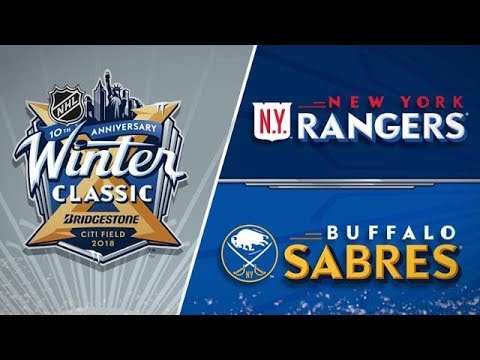 New York Rangers vs Buffalo Sabres - Jan. 1, 2018 | NHL Winter Classic | NHL Highlights | 2017/18